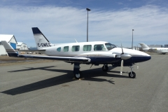 """PA-31 Navajo C-GMEC equipped with 21"""" x 21"""" camera hole"""